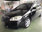 保證實車實價 2004年 Toyota 豐田 ALTIS 阿提斯 1.8 黑