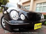黑色末代E200K小改款2.0機械增壓~極省油性能馬力強第三方優質認證車