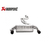 AKRAPOVIC EVOLUTION LINE 中尾段(鈦合金+CARBON尾) BMW F30 340i 2016-