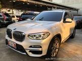 2018 BMW X3 30I 2.0白大馬力.低里程.原鈑件(台中日信汽車