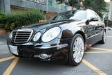 BENZ  W211 E350 小改款 中型房車 黑色頂級內裝!