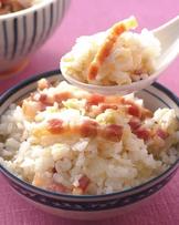 青菜鹹肉飯