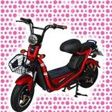 綠馳電動車E-Bike- AEG1 (紅)-電動自行車/電動輔助自行車/電動機車/電動車