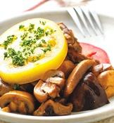 野菇暖沙拉