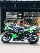 2017年 Kawasaki Ninja 300 ABS 忍者 台崎 只跑三千多公里 可分期 免頭款 歡迎車換車 網路評價最優 業界分期利息最低 黃牌 仿賽 忍3 忍4 R3 z300 可參考