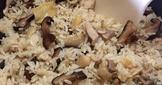香菇麻油雞越光米飯