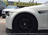 08年 BMW M3 GTS限量版鋁圈 REMUS中尾段排氣管