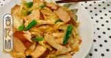 豆瓣香干炒白菜 ◆華麗風高麗菜6