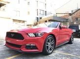自售2015野馬敞篷跑車2.3T紅色 Mustang車商勿擾