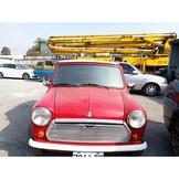 Mini 手排車【正牌】 #運動版手排都市小跑車 #廠型:AUSTIN MINI 紅白色