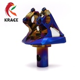 KRACE燒鈦改裝底座FORCE155龍頭把座CNC鋁合金鍛造車底座