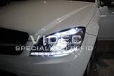 威德汽車 賓士 W204 08-10 年 C300 C350 C63 DRL 日行燈 大燈 總成 現貨 歐規 美規 可裝