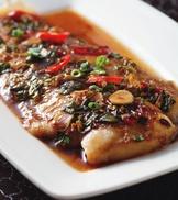 蔥燒醬烤魴魚