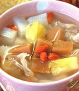 年糕山藥甜湯