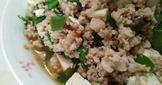 麻婆豆腐【豆豆愛的料理】【澎湖豬肉】
