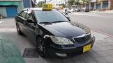 高雄天盛汽車 最佳安全家庭房車2002/3Toyota Camry 2.0 黑色 原鈑原件 實跑16萬km 內外皆漂亮
