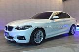 2018年總代理 BMW 220i M Sport可協助貸款 新車保固-達通車業