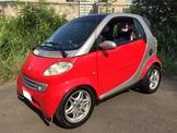自售賓士 SMART 450銀骨珍珠紅色 整新車