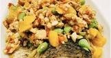 繽紛鮮蔬肉燥淋鱸魚