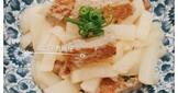 簡易家常菜-蘿蔔炒魚鬆