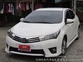 豐田~NEW-ALTIS~1.8~頂級Z版~ABS~導航~顯影~數位~防滑循跡~