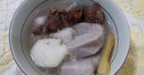 芋頭山藥排骨酥湯-電鍋料理