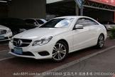 Benz E200 Coupe 總代理中華賓士 全程原廠保養 僅跑2萬