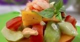 芒果蝦沙拉
