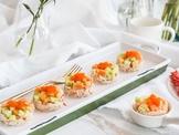 蟹腳肉涼拌雙色瓜