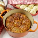 薯蓉芝士麵包卷配蜜糖肉桂牛油