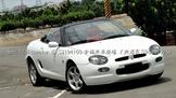 雅痞精神 紳士風格 1998年 Rover MGF 英國經典小跑車 無須整理