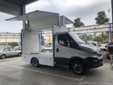 IVECO 義大利原裝進口/歐翼行動餐車/商品展售車