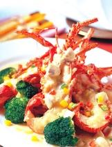 紹興風味焗龍蝦
