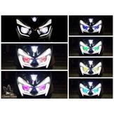 【『柏』利多銷】燈匠魚眼大燈組 FORCE專用LED魚眼大燈組 LED大燈 可加購七彩變色魚眼燈 另有FORCE尾燈