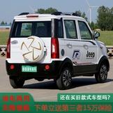 電動四輪車成人電動汽車新能源電動轎車老年代步車全封閉鐵殼新款