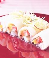 水晶鮑魚卷