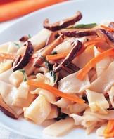 香菇炒板條