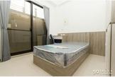 全套系統家具、獨立陽台個人洗衣機、近南科