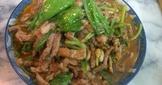 沙茶芥藍豬柳