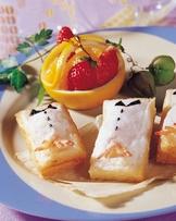 鳳尾土司蝦片