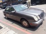 有喜歡歡迎看車!很少開!1996年 古董級!鐵灰色賓士