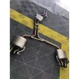 【YGAUTO】二手時間 AUDI 奧迪 RS5 改裝 東歐 Akrapovic 蠍子 二手中尾段排氣管
