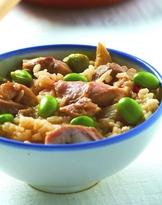 竹筍雞肉飯