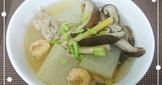 冬瓜香菇湯(簡單料理)
