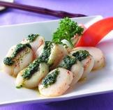 干貝佐青醬