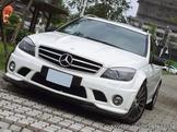 2008年 賓士 正AMG C63 已認證 一手車 保養廠老闆愛駒拖售~~~~~
