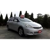豐田Toyota Wish、省油一手車、二手車、中古車、休旅車、旅行車、實車實價、全額貸款、低月付、零頭款、免保人。
