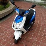 2015 YAMAHA 四代勁戰 125 雙碟版 藍白