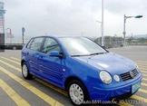 車主自售 04年 VW polo 藍色 好開好停載貨方便 三門款