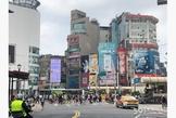 西門捷運站商圈成都路面寬12米金店面